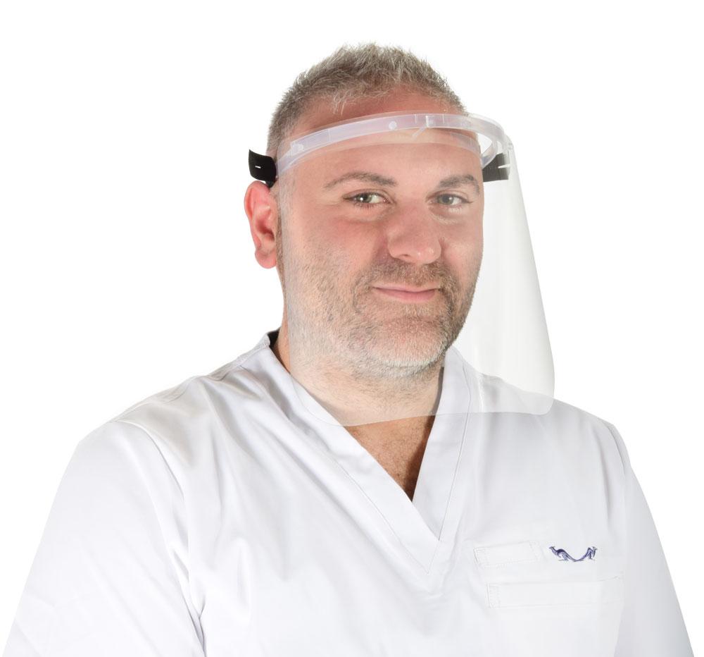 Vision one átlátszó arcvédő