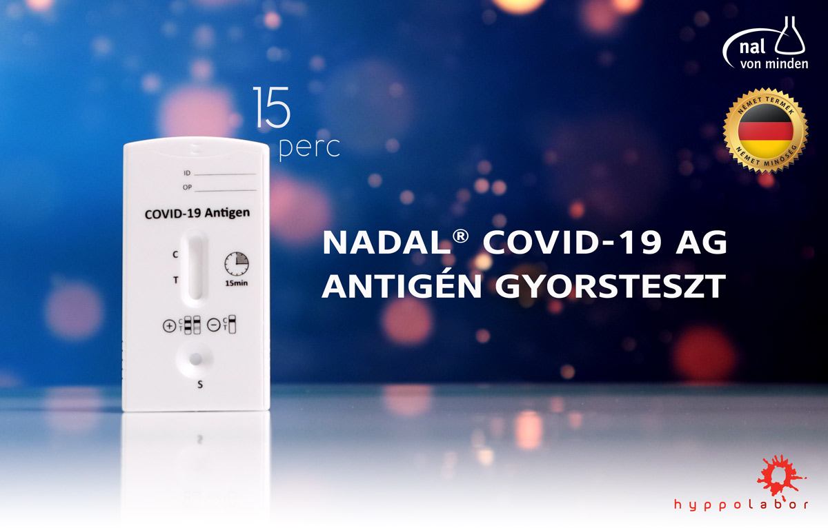 NADAL® COVID-19 Ag antigén gyorsteszt - Hyppolabor