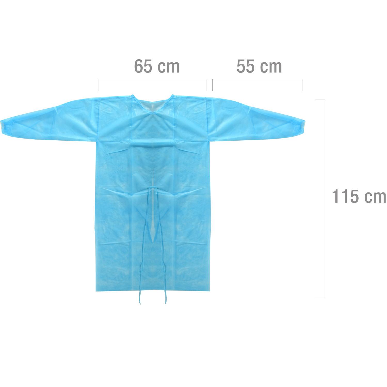 Egyszer használatos védőruha PP textilből