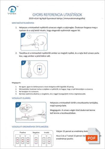 NADAL® COVID-19 Ag teszt OGYÉI bizonyítvány