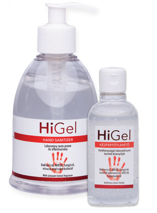 HiGel 100ml 300 ml