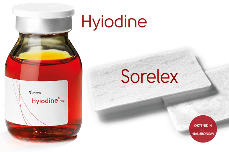 Sebkezelés - Sorelex - Hyiodine